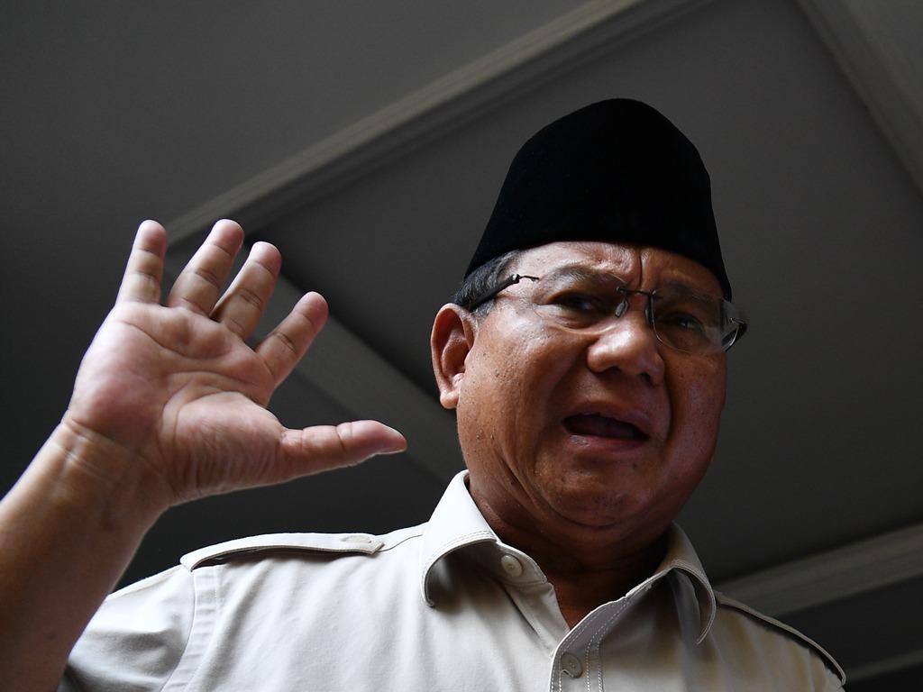 Prabowo Minta Massa Aksi Akhiri Unjuk Rasa