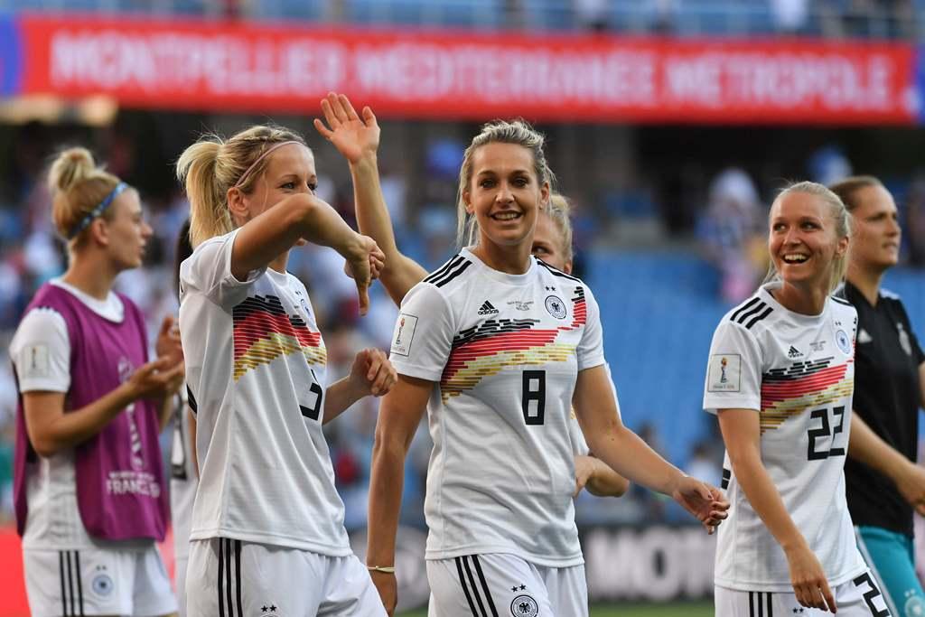 Gebuk Afrika Selatan, Jerman Lolos dengan Rekor Sempurna