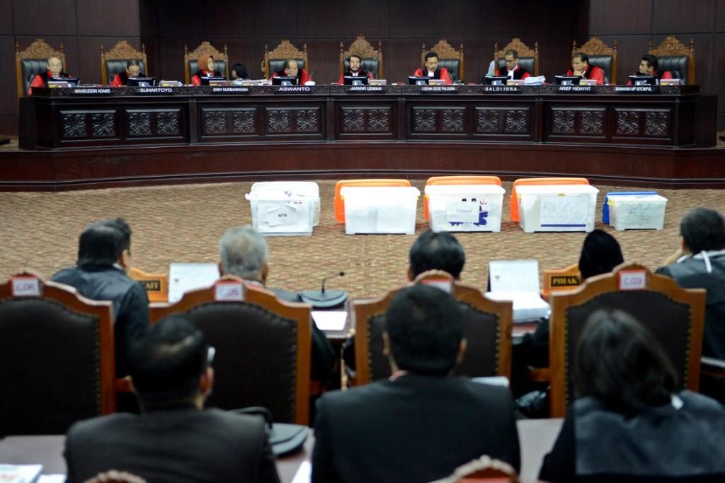 MK Dinilai Sulit Kabulkan Gugatan Kubu Prabowo