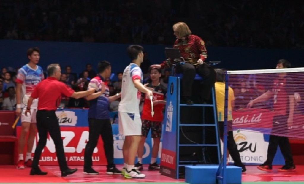 Penjelasan Marcus/Kevin soal Insiden Protes di Semifinal