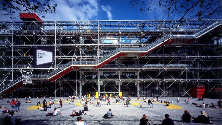 Centre Pompidou Museum Seni Yang Jadi Landmark