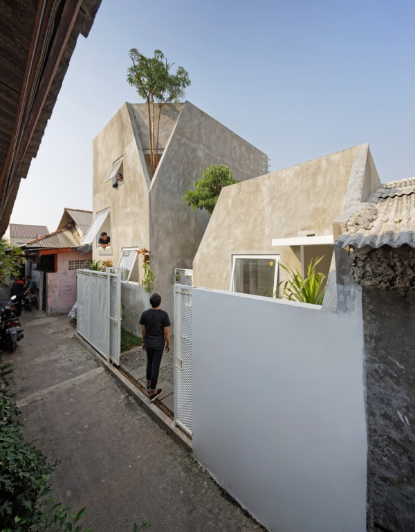 Permalink to Contoh 13+ Terbaik Desain Rumah Minimalis Di Gang Sempit