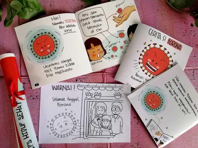 Sampaikan Info Covid 19 Pada Anak Melalui Buku Cerita Lucu Ini Medcom Id