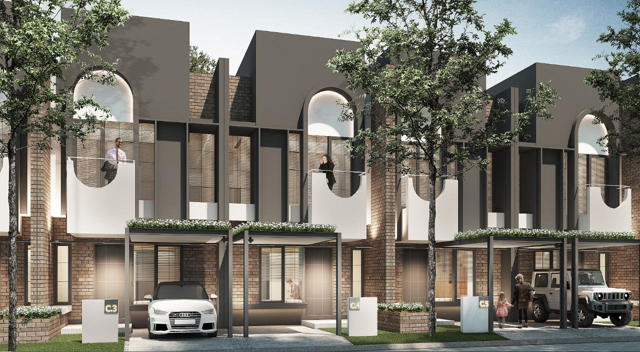 Freja Suites didesain dengan konsep industrial urban house
