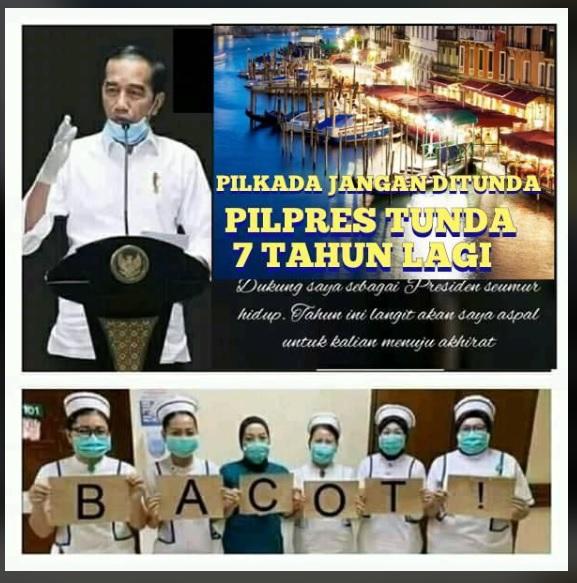 [Cek Fakta] Jokowi Tunda Pilpres 7 Tahun Lagi? Ini Faktanya