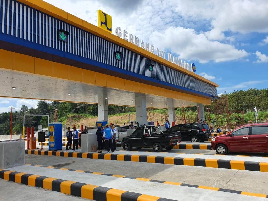 2 Minggu Gratis Jajal Tol Pertama di Sulawesi Utara