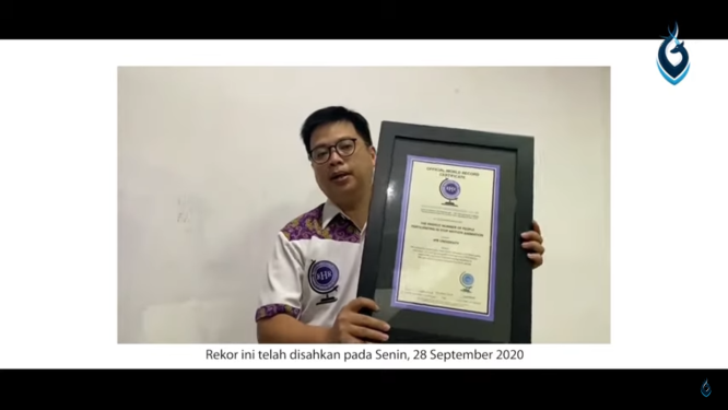 Ospek IPB Pecahkan Rekor Dunia Stop Motion Animation - Medcom.id
