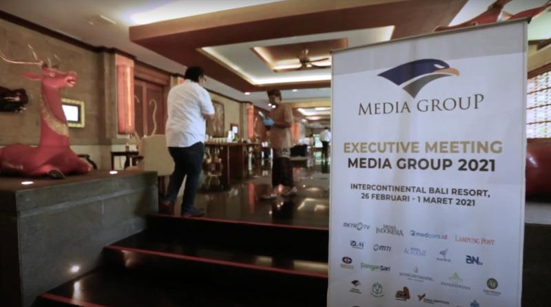Media Group Menggelar Raker untuk Menghadapi Tantangan di 2021
