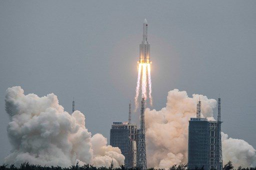 Awas! Roket Tiongkok Akan Jatuh ke Bumi, Lokasinya Belum Diketahui