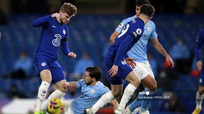 Manchester City vs Chelsea: The Blues Tunda Juara The Citizen