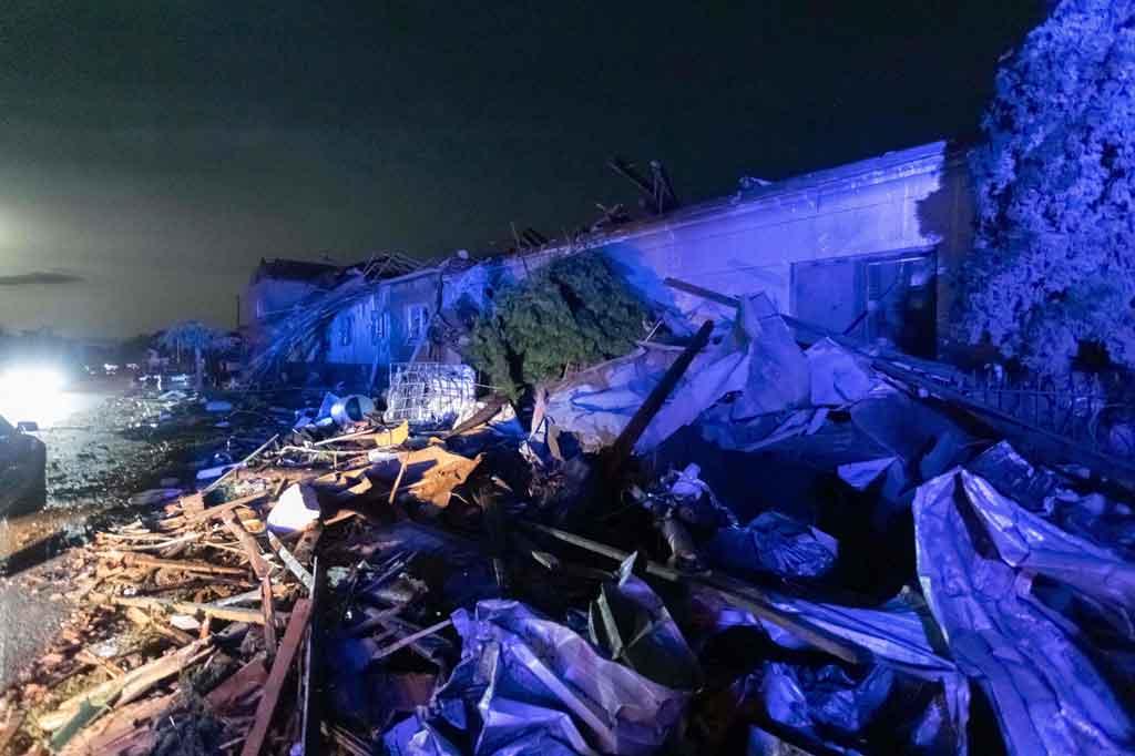 Tornado Terjang Ceko, Beberapa Orang Meninggal - Medcom.id