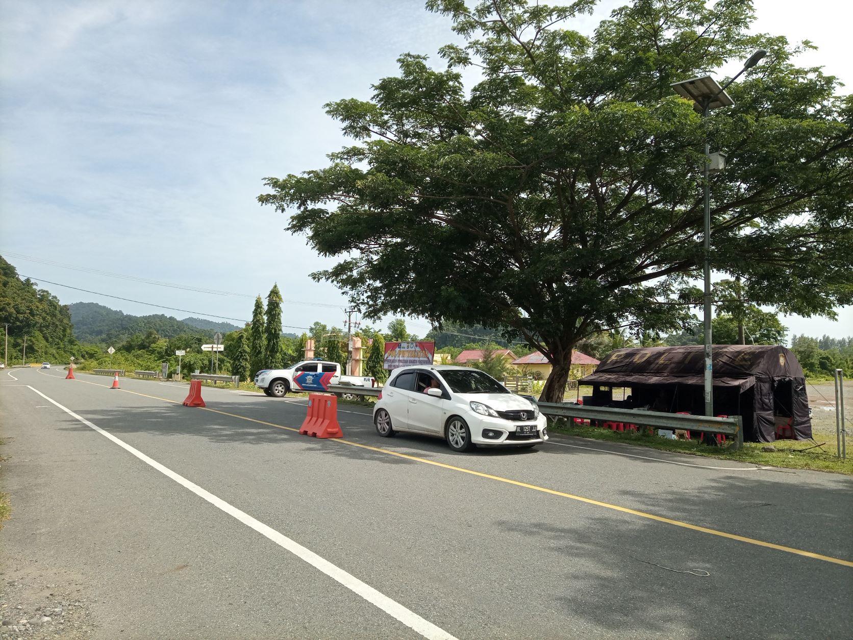 Masuk Zona Merah Ini 3 Lokasi Penyekatan Di Banda Aceh