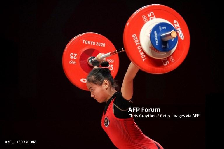 Windy Cantika Aisah Sumbang Medali Pertama untuk Indonesia
