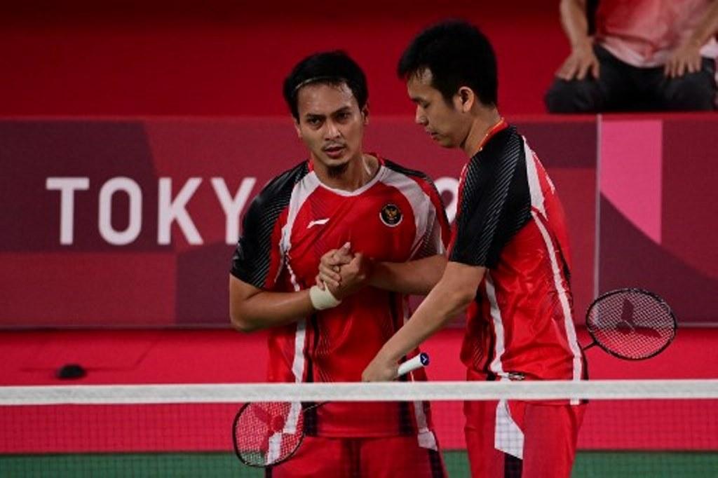 Tumbangkan Tuan Rumah, Ahsan/Hendra Lolos ke Semifinal