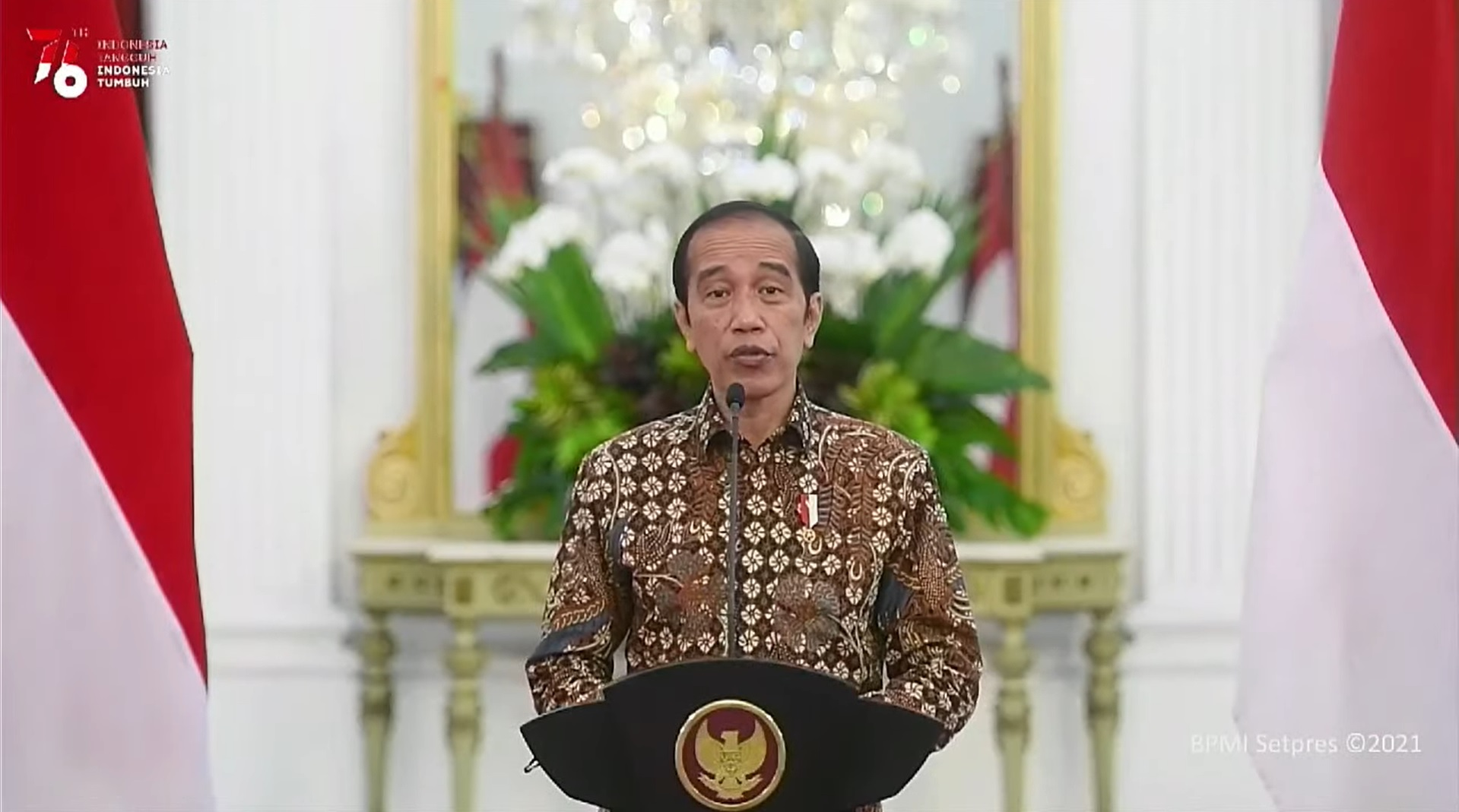 Jokowi: Januari Hingga Mei 2021 Ekonomi Sempat Membaik