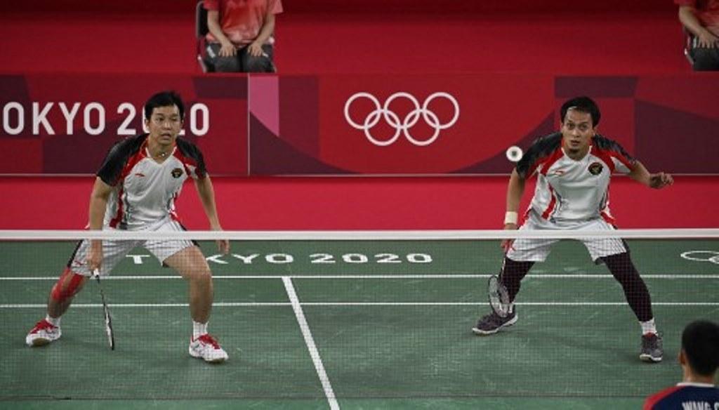 Ahsan/Hendra Terhenti pada Semifinal Olimpiade Tokyo