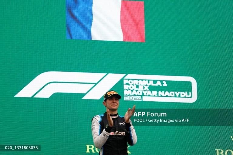 Tabrakan Beruntun Warnai Kemenangan Ocon di F1GP Hungaria