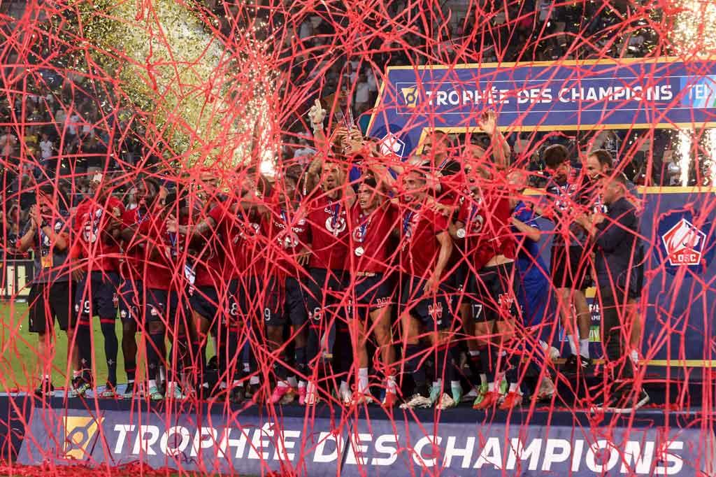 Tekuk PSG 1-0, Lille Juara Trophee des Champions
