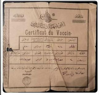 [Cek Fakta] Sertifikat Vaksin Tertua di Dunia Dikeluarkan Turki Utsmani pada 1971 Hoaks? Begini Faktanya