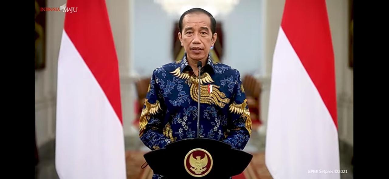 1,5 Tahun Dilanda Covid-19, Presiden: Kondisi Indonesia Membaik