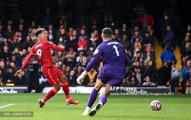 Hattrick Firmino Bantu Liverpool Hancurkan Watford