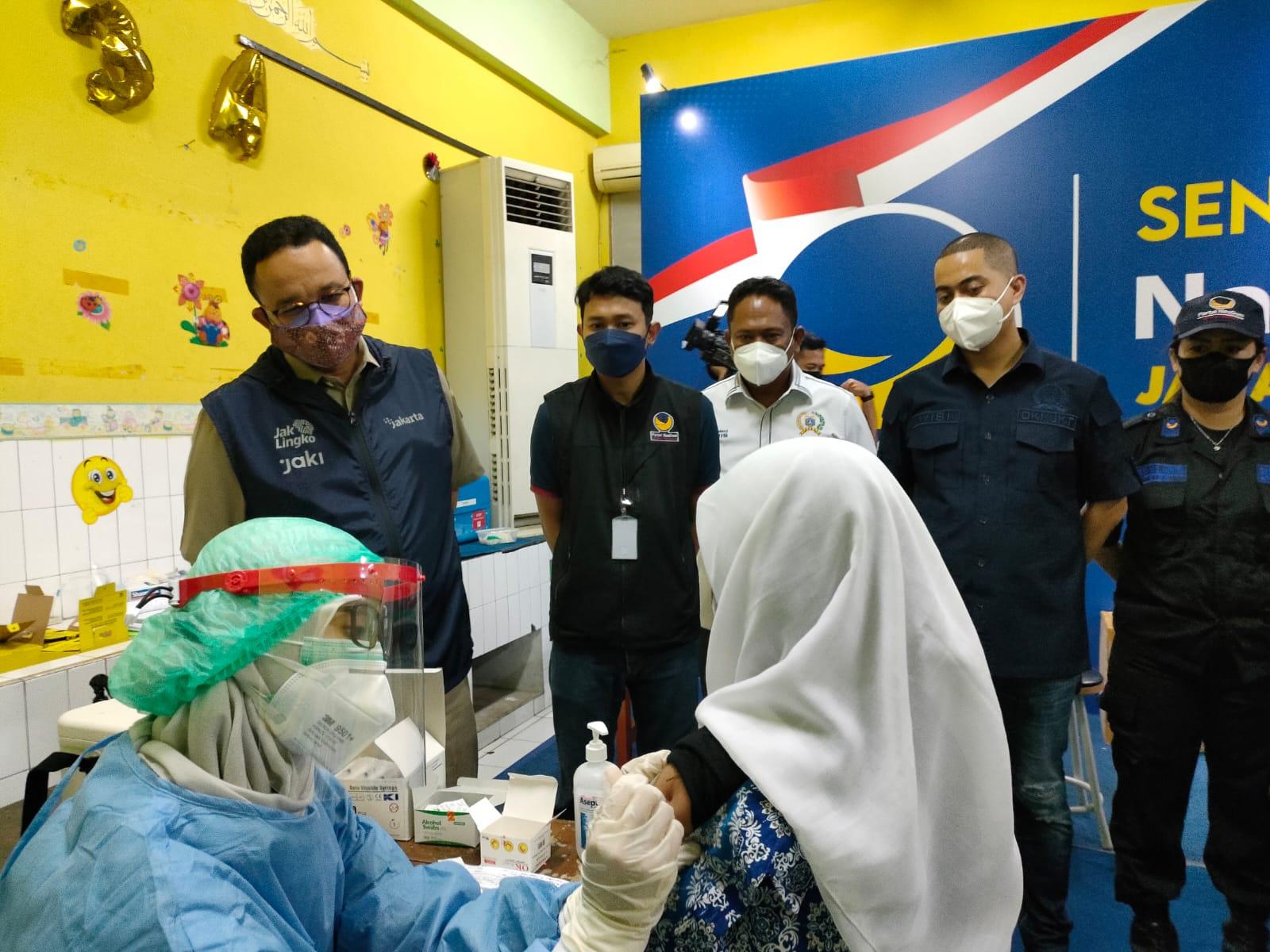 62 Juta Warga di Indonesia Divaksinasi Dosis Lengkap