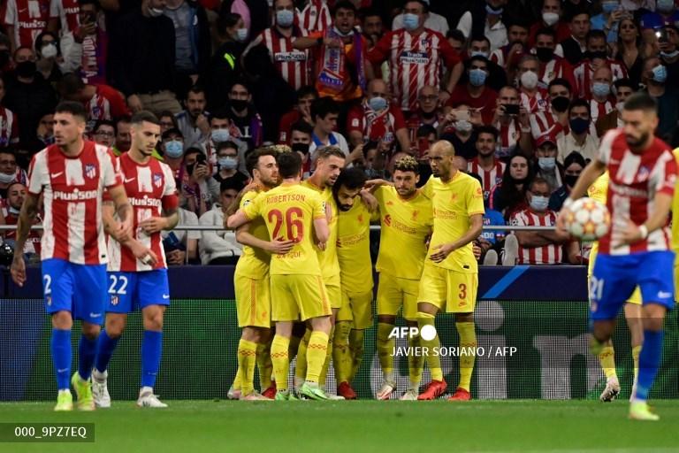 Liverpool Atasi 10 Pemain Atletico Madrid