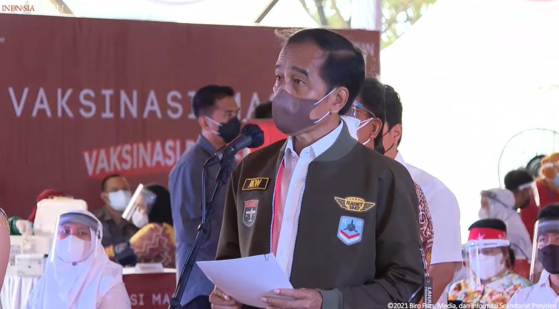 Baru 33%, Jokowi Perintahkan Vaksinasi di Kalsel Dikebut