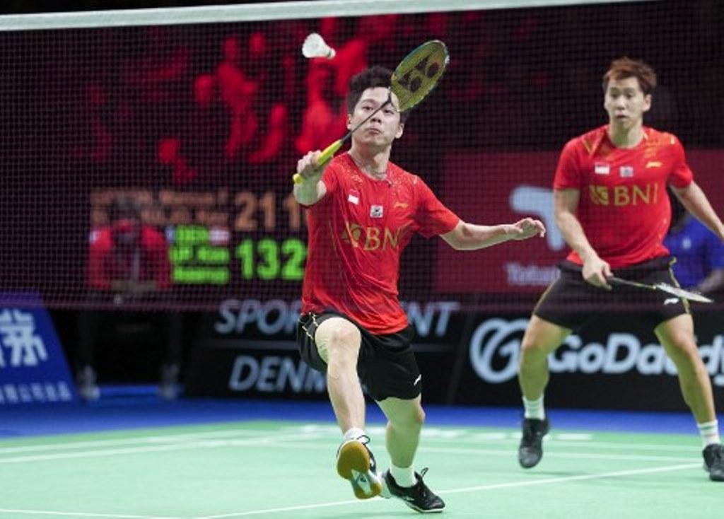 Denmark Open: Marcus/Kevin Tersingkir