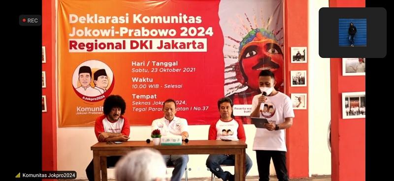 Jokowi dan Prabowo Diminta Mencalonkan Diri di Pilpres 2024