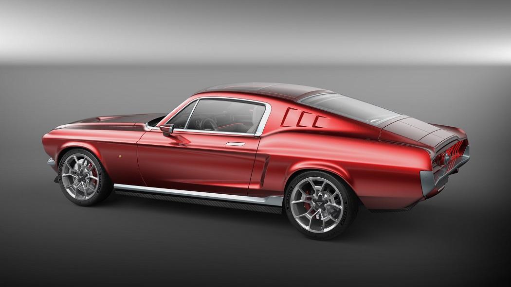 Aviar Suntik Teknologi Mobil Listrik di Ford Mustang Fastback