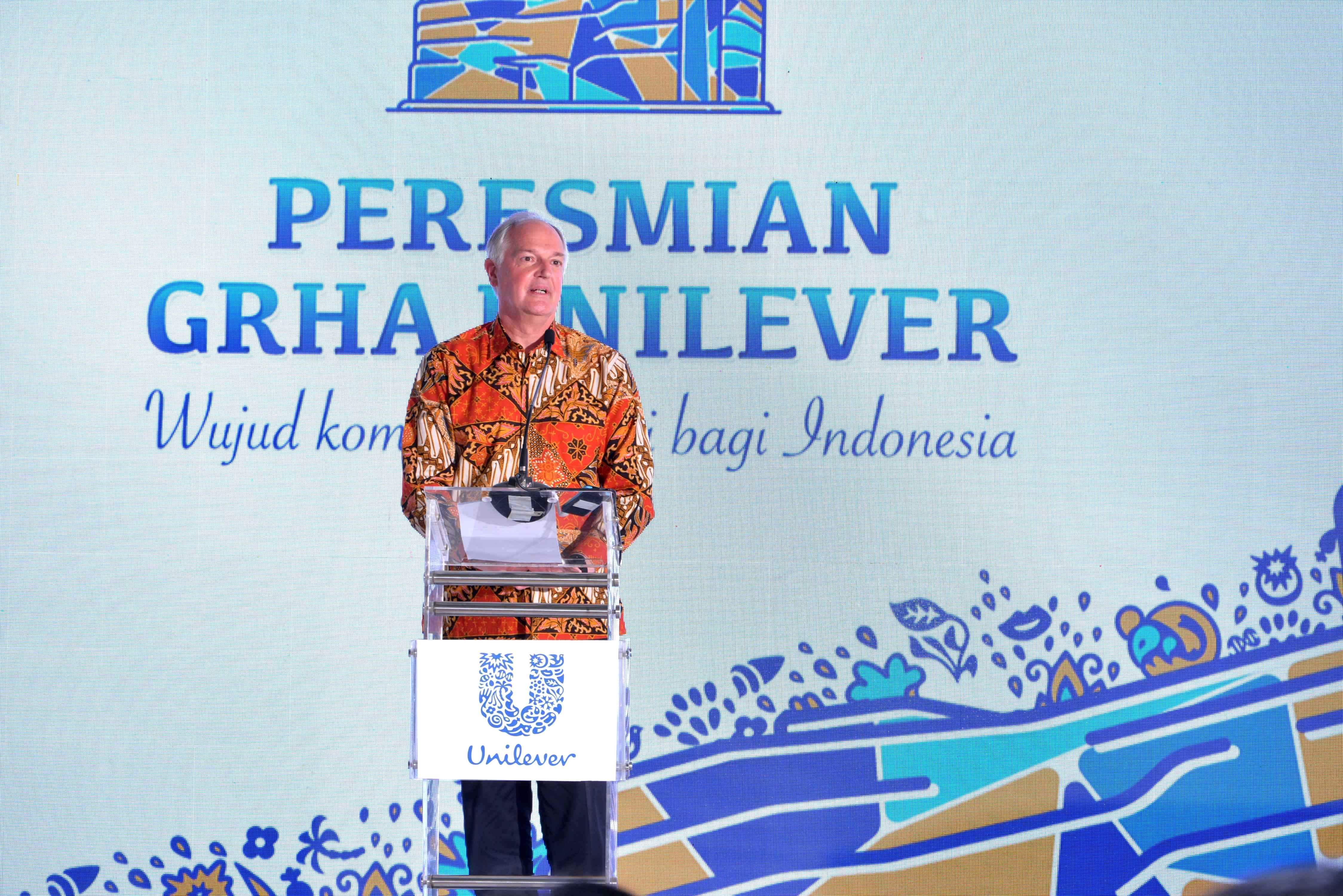 Perkokoh Komitmen untuk Bertumbuh di Indonesia, Unilever Resmikan Kantor Pusat Baru