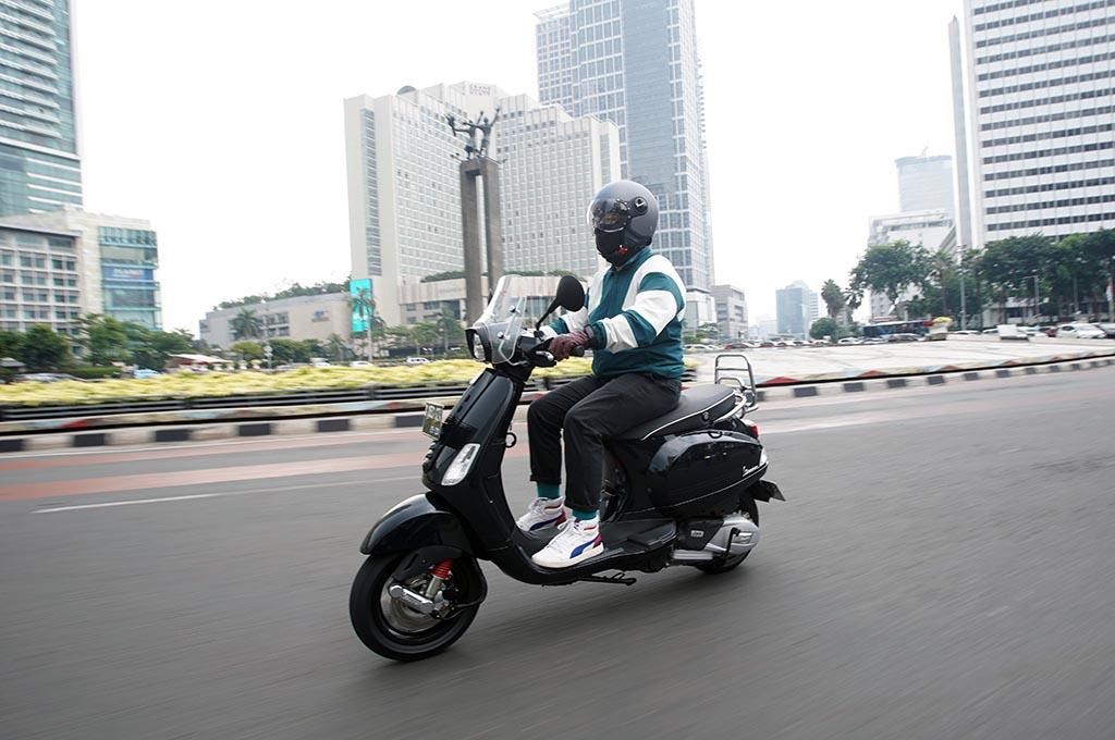 Test Ride New Vespa S 125 i-get, Semakin Cocok untuk Kaum Urban