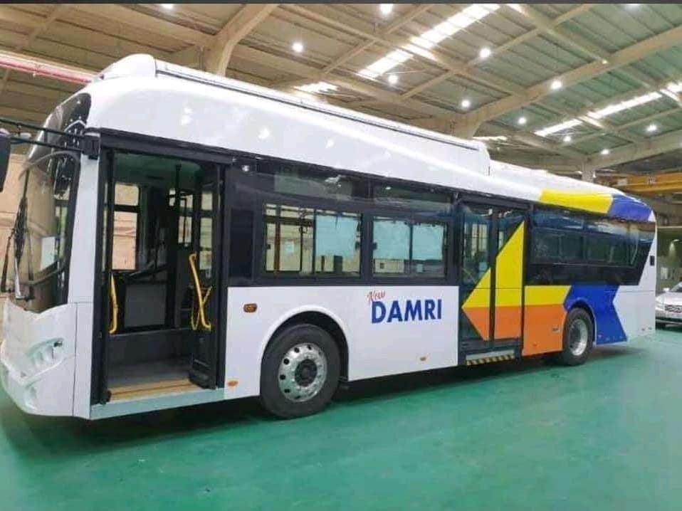 Damri Mulai Lirik Menggunakan Bus Listrik