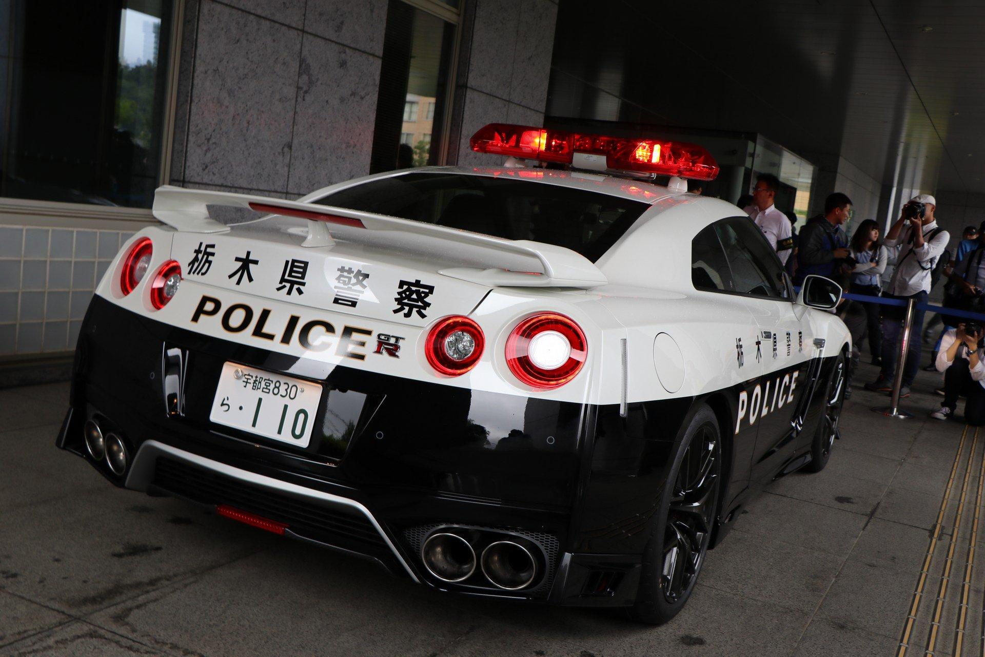 Kepolisian Jepang Kini Gunakan Nissan GT-R
