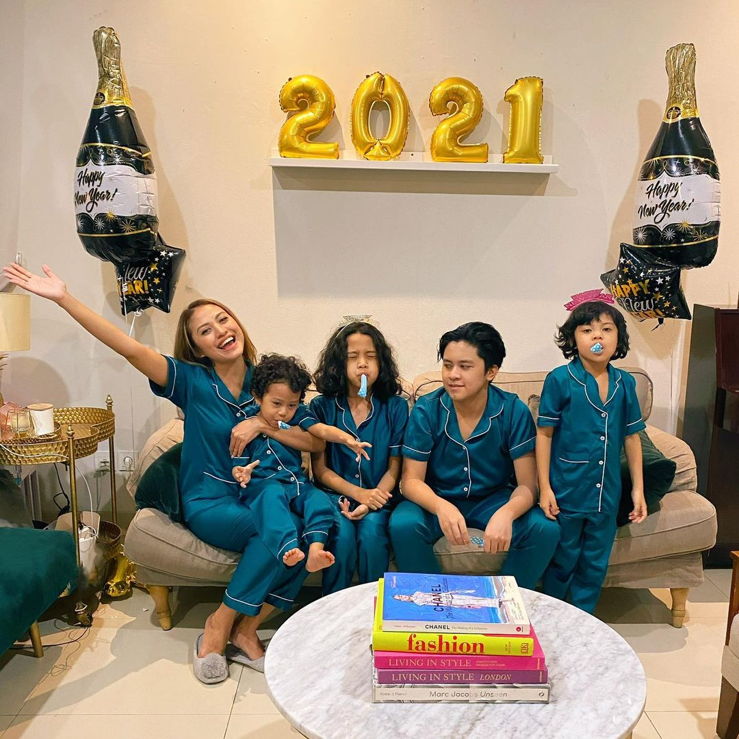 Giring Positif Covid-19, Tetap Rayakan Tahun Baru Bareng Keluarga