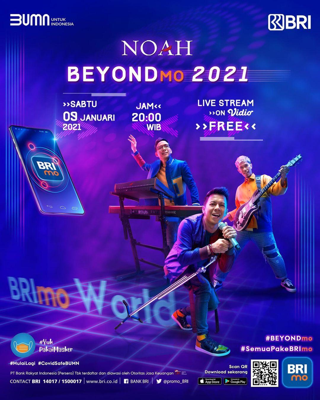 Noah Awali Tahun 2021 dengan Konser Bersejarah