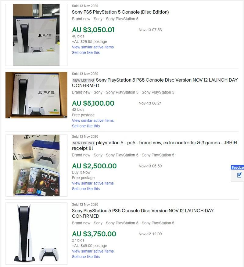 Di Australia Ramai PS5 Bekas Dijual Harga Puluhan Juta