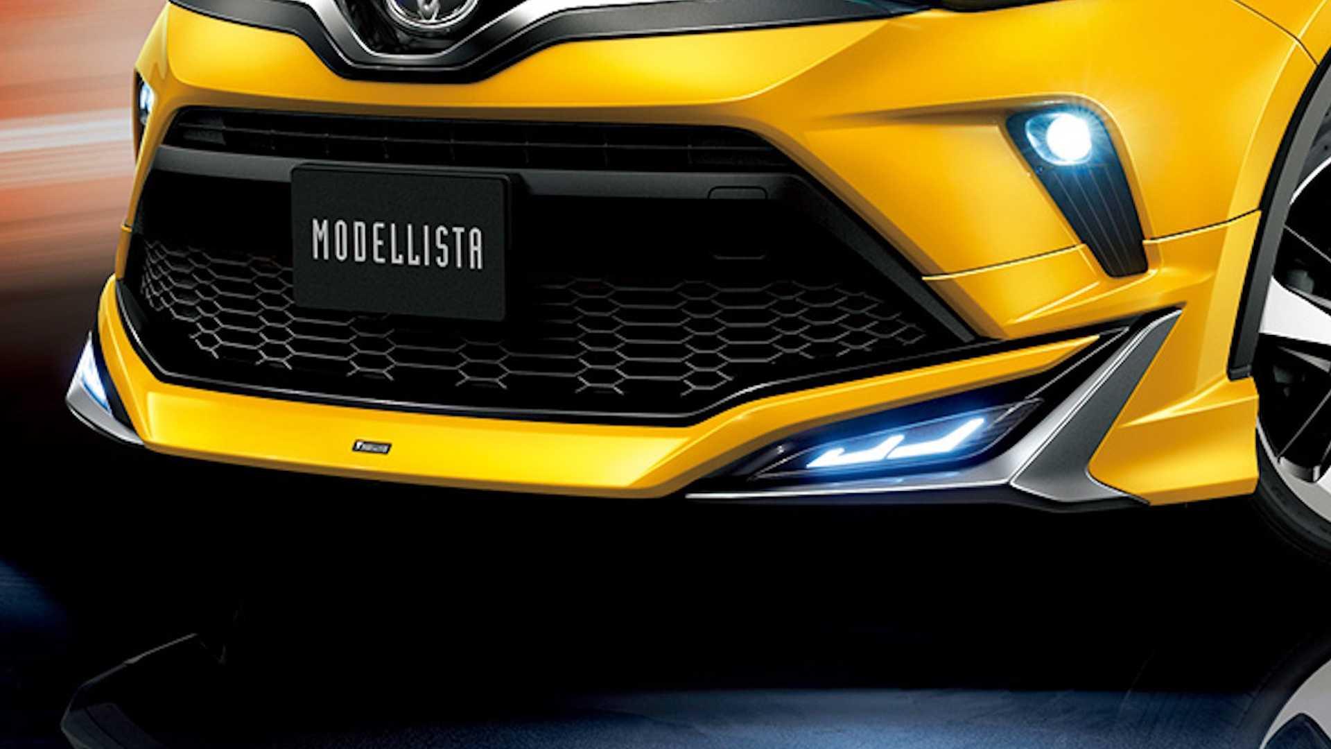 Gaya Agresif Modellista untuk Toyota C-HR