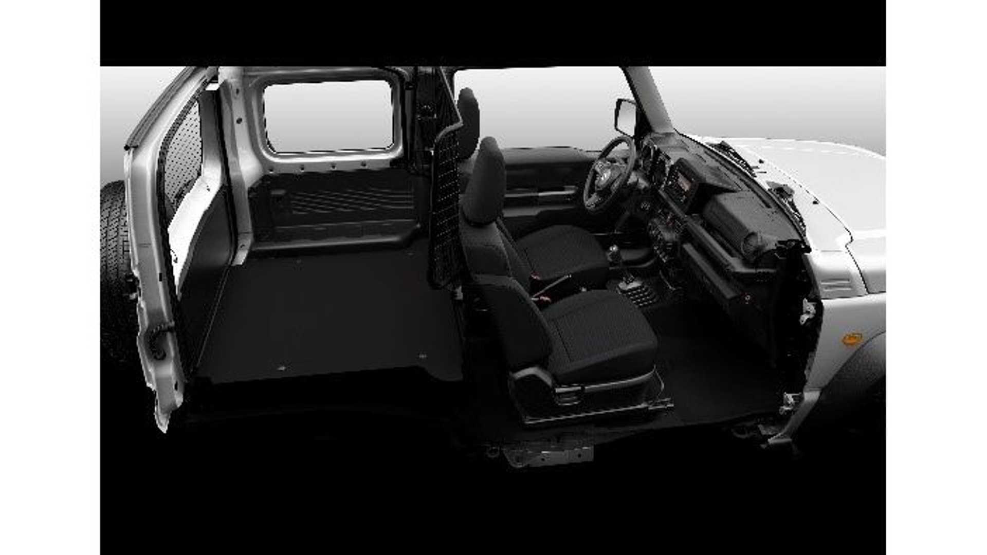 Di Eropa, Suzuki Jimny Jadi Mobil Angkutan Barang