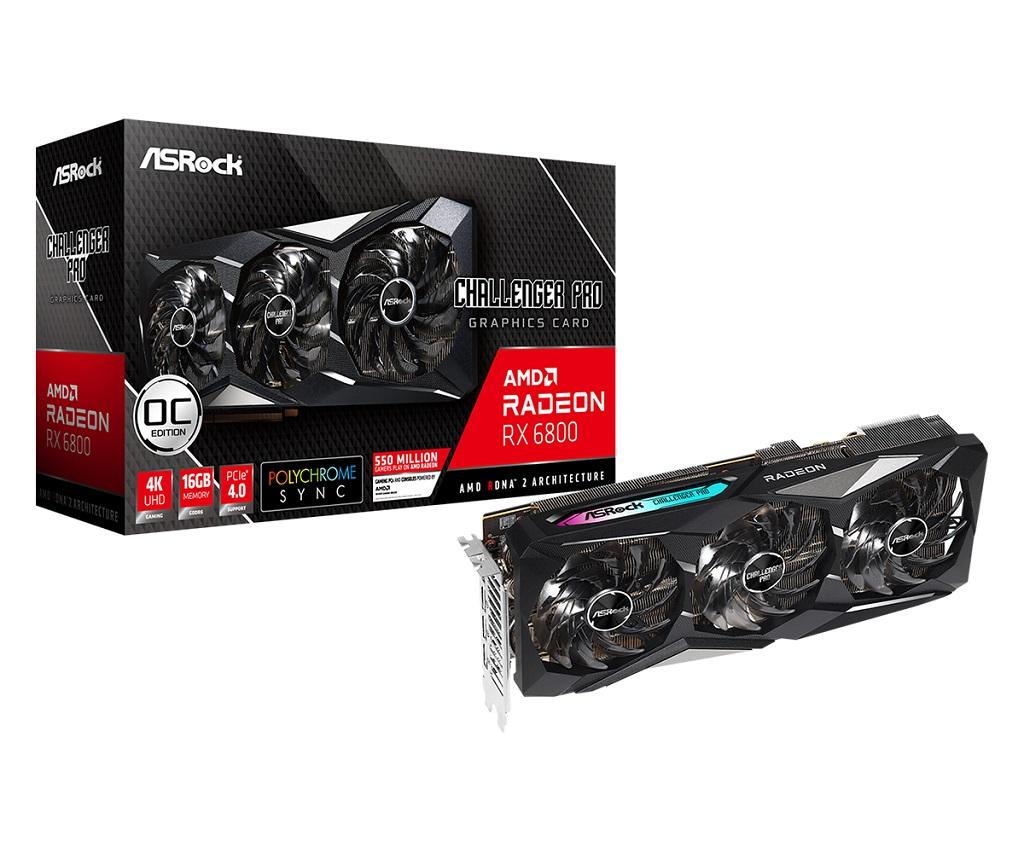 ASRock Rilis Kartu Grafis Kustom Radeon RX 6800 Series