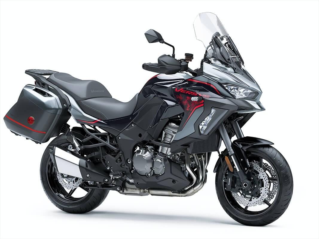 New Kawasaki Versys 1000 Muncul, Dibekali Suspensi Pintar