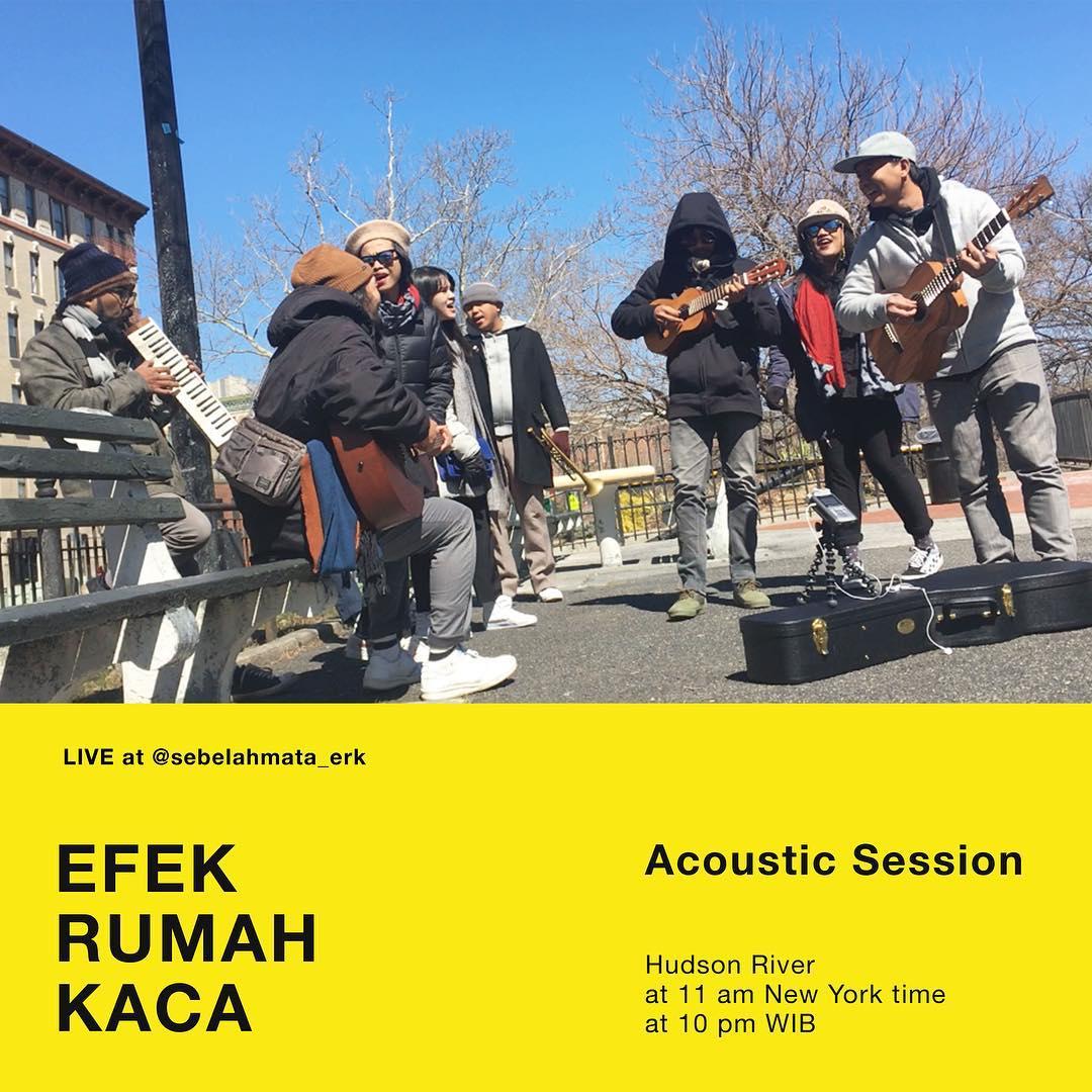 Setelah Tampil di SXSW, Efek Rumah Kaca Gelar Konser Akustik di New York