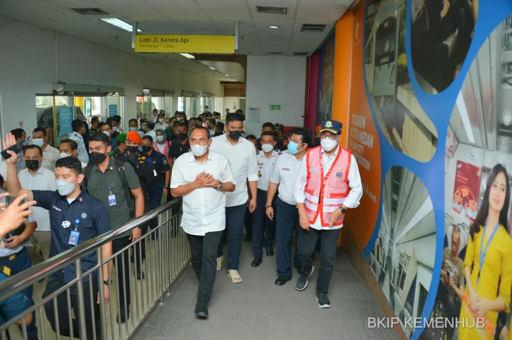 Kemenhub Segera Bangun LRT dan BRT di Medan