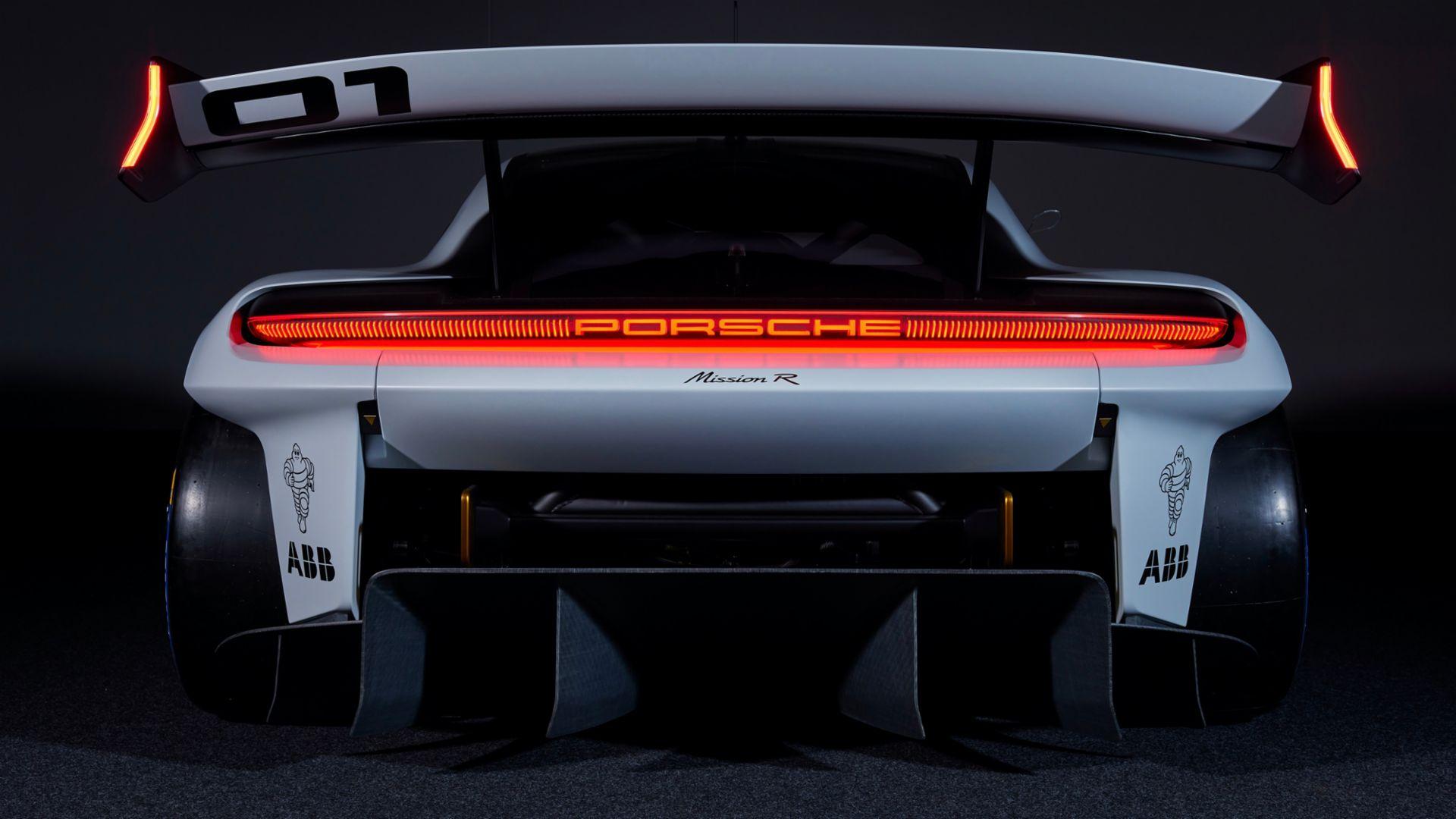 Porsche Mission R Gabungan Konsep Ramah Lingkungan & Performa