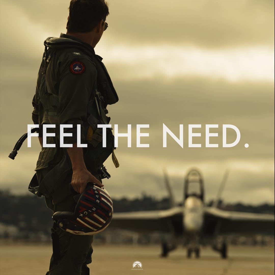 Tom Cruise Mulai Syuting Top Gun 2