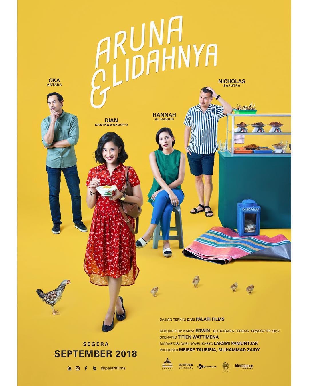 Film Film Aruna Lidahnya Sajikan Kisah Tokoh Lewat Makan