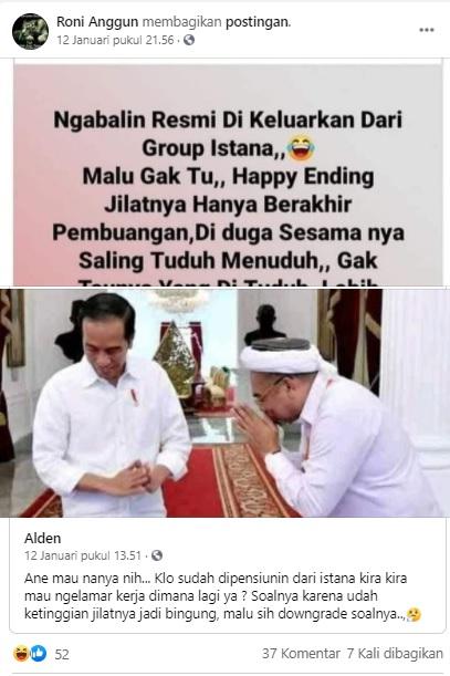 [Cek Fakta] Ali Mochtar Ngabalin Dikeluarkan dari Istana? Ini Faktanya