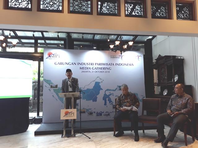 GIPI Siap Bermitra dengan Pemerintah untuk Capai Target 20 Juta Wisman di Tahun 2019