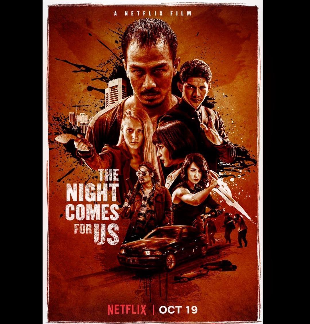 The Night Comes for Us, Film Baru Iko Uwais dan Joe Taslim Dirilis di Netflix